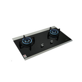 Rinnai 2-Burner Built-in Gas Hob (Glass) RB7502D.G | ESH Online