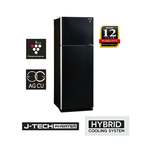 Sharp Pelican 480L 2 Doors J-Tech Inverter Technology Refrigerator SJP598GK