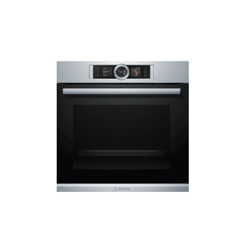 Bosch Serie 8 Built-in oven with Steam Function Stainless Steel HSG636 | ESH Online