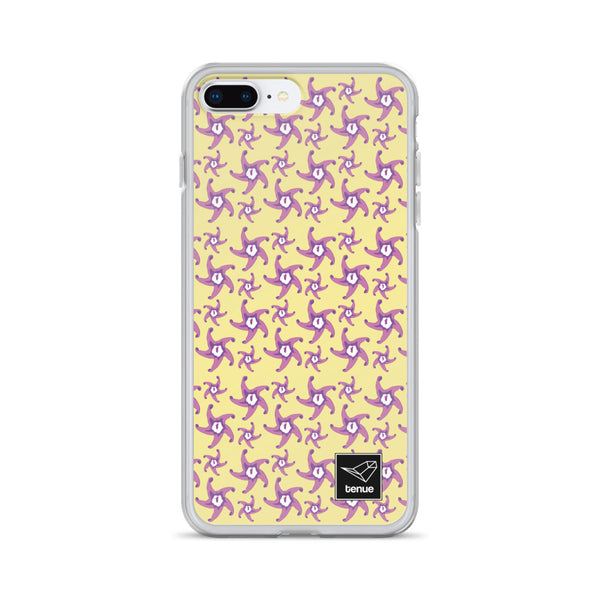 Zahumerio iPhone Case - Yellow Background - Tenue.cl