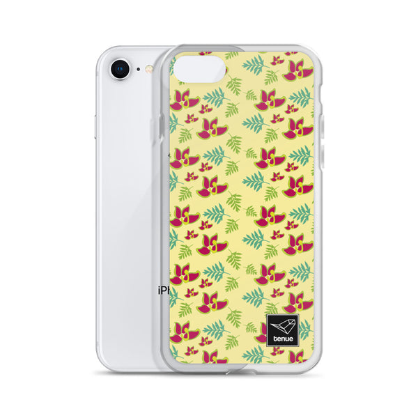 Fuinque iPhone Case - Yellow Background - Tenue.cl