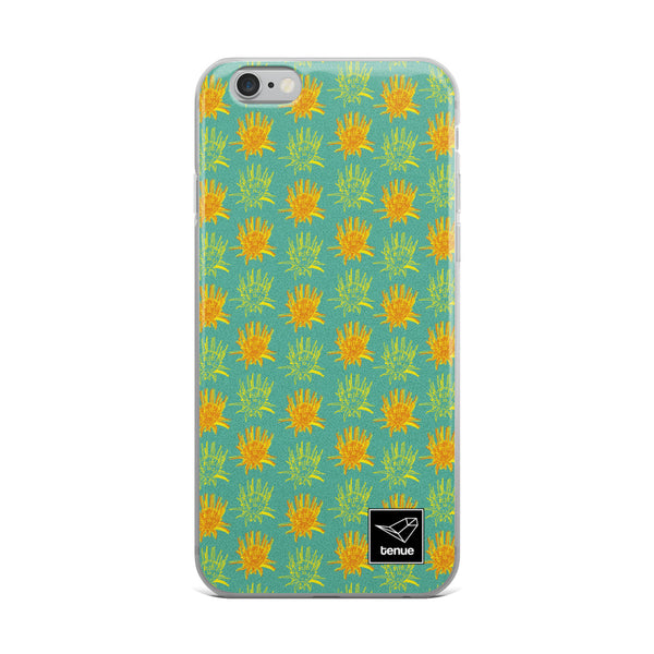 Yerba Blanca iPhone Case - Blue Background - Tenue.cl
