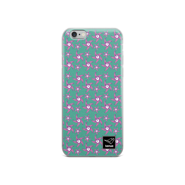 Zahumerio iPhone Case - Blue Background - Tenue.cl