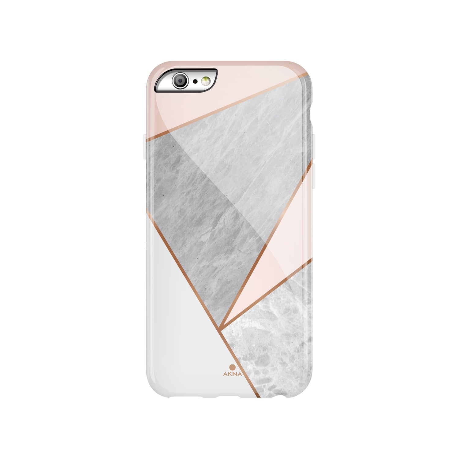 Pink Marble Geometric(#924)