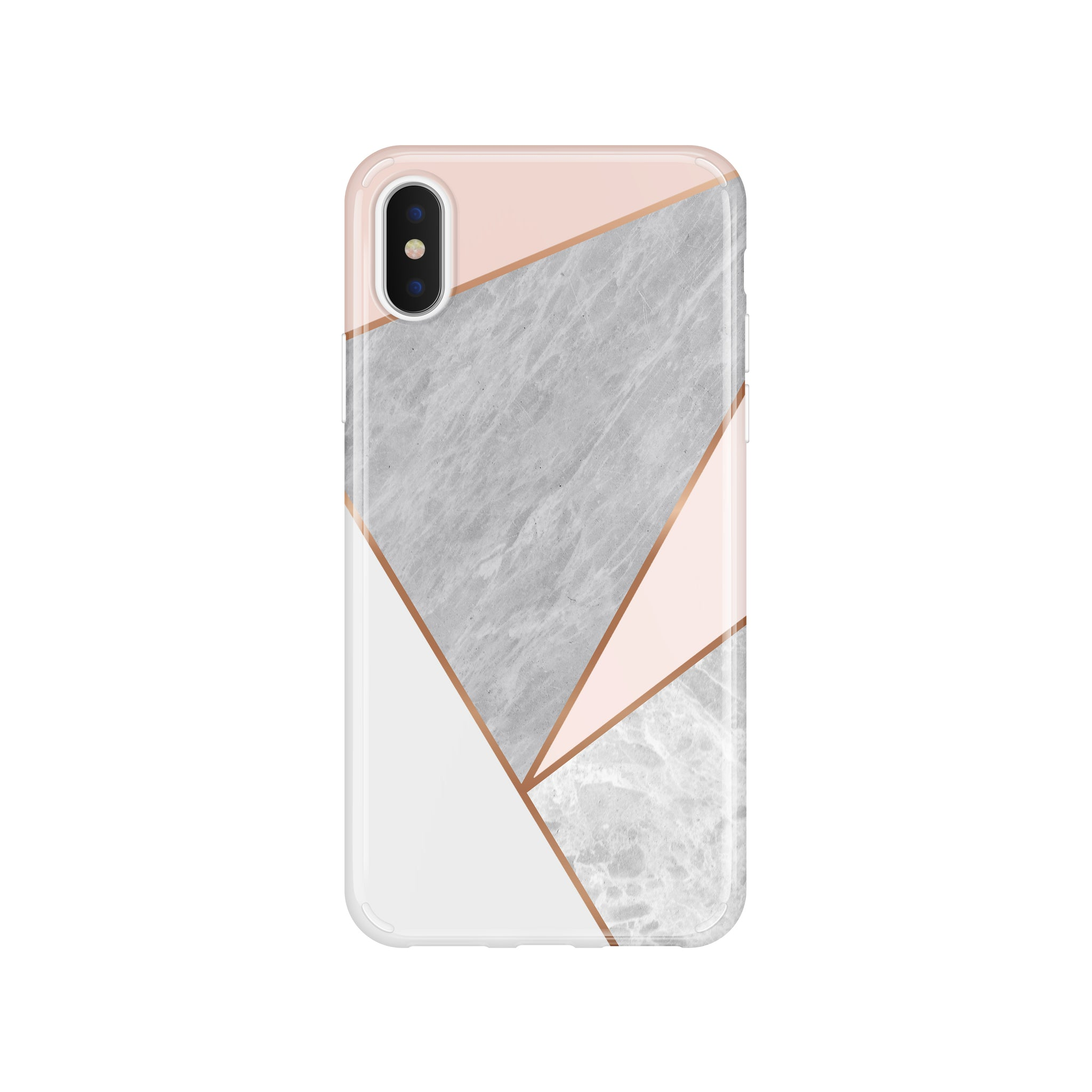 Pink Marble Geometric(#936)