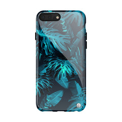 Tropical Blue Leaves(#957)