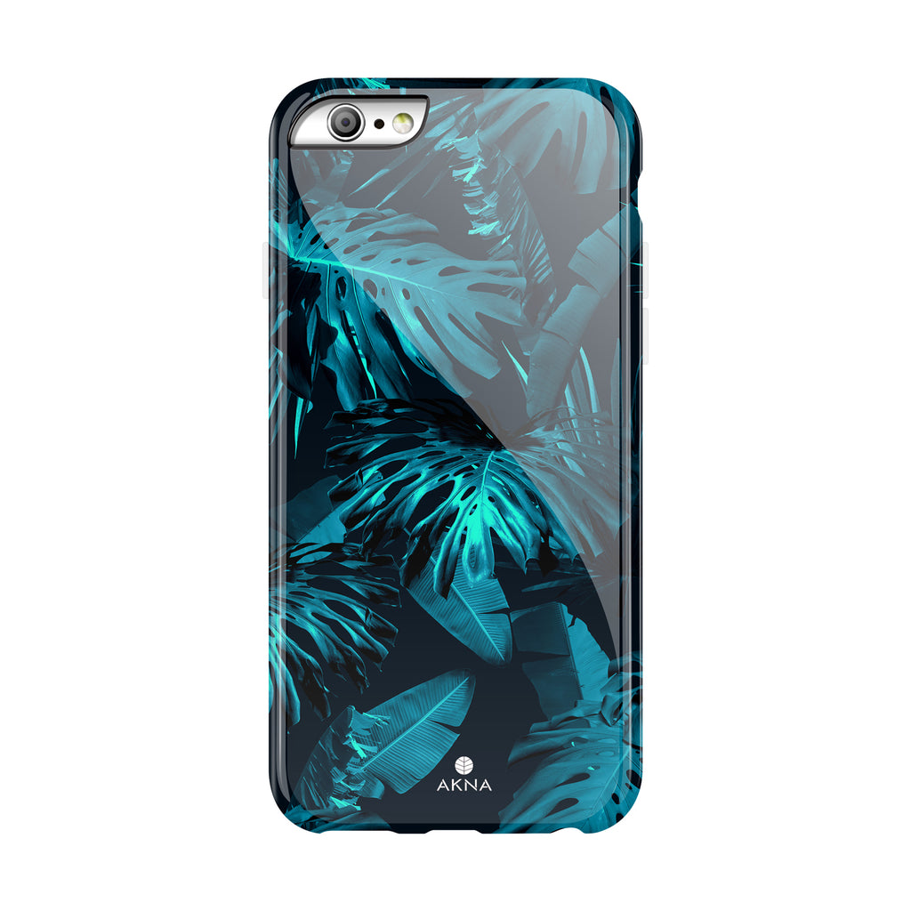 Tropical Blue Leaves(#943)