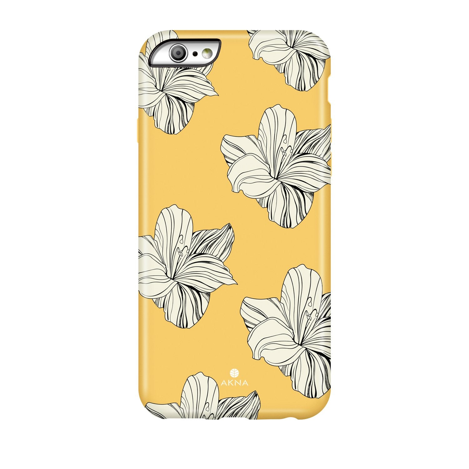 Retro Yellow Floral(#216)