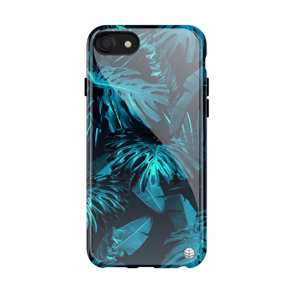 Tropical Blue Leaves(#951)