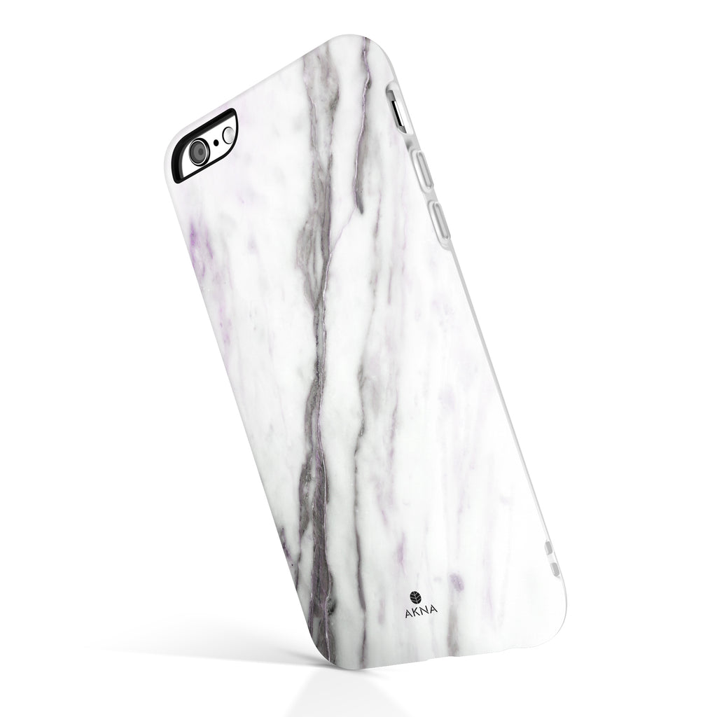 White Purple Marble(#663)