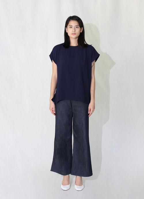 Double Side Pleat Top