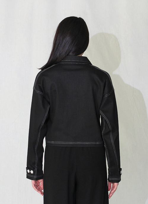 Beam Croped Jacket