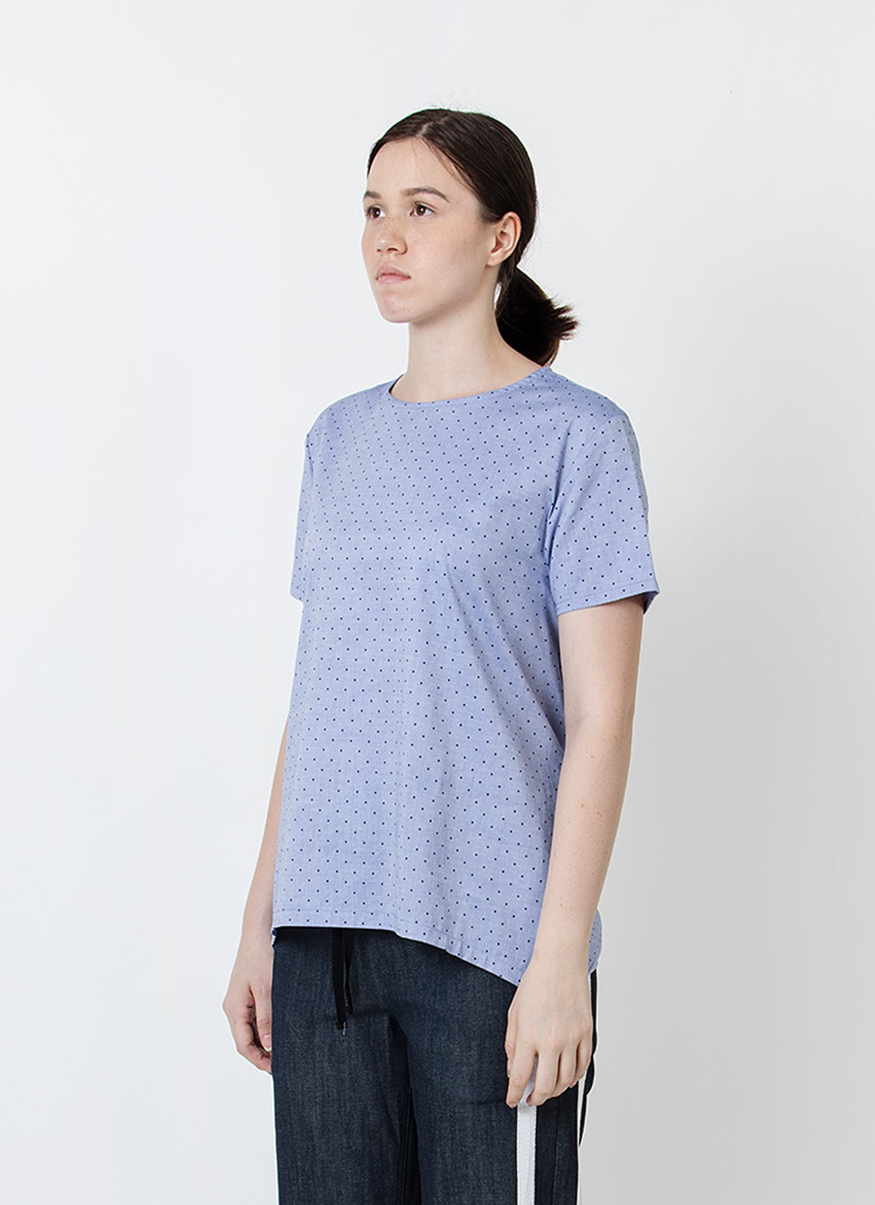 Short Sleeve Apron Top