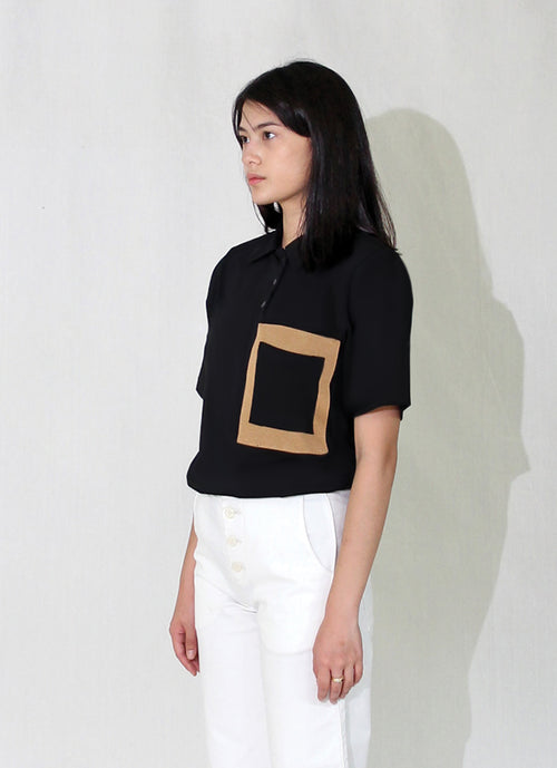 Frame Polo Top