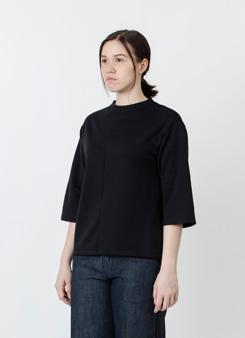 Flunnel Neck Top