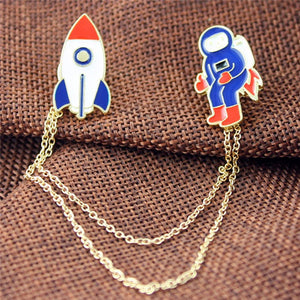 Delightful Three Style Enamel Pin