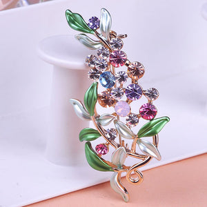 Luxuries Large Enamel Leaf Flowers