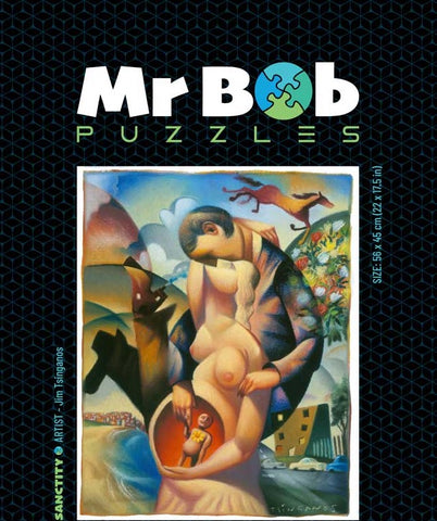 Sanctity - Wooden Jigsaw Puzzle-Mr Bob Puzzles - Wooden Jigsaw Puzzles