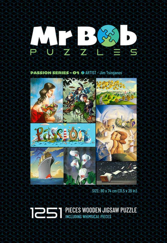Passion Series 01: Collector's Item - Wooden Jigsaw Puzzle-Mr Bob Puzzles - Wooden Jigsaw Puzzles
