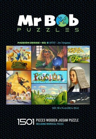 Passion Series 02: Collector's Item - Wooden Jigsaw Puzzle-Mr Bob Puzzles - Wooden Jigsaw Puzzles