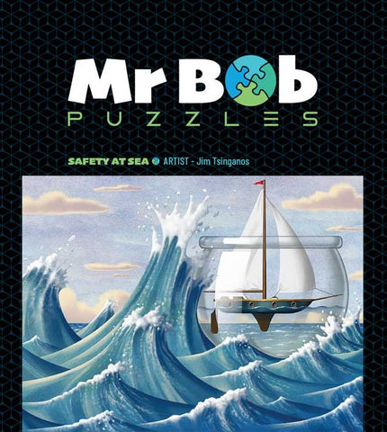 Safety At Sea - Wooden Jigsaw Puzzle-Mr Bob Puzzles - Wooden Jigsaw Puzzles