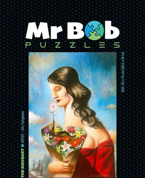 The Bouquet 1001 Pieces, Tsinganos Classic-Mr Bob Puzzles - Wooden Jigsaw Puzzles