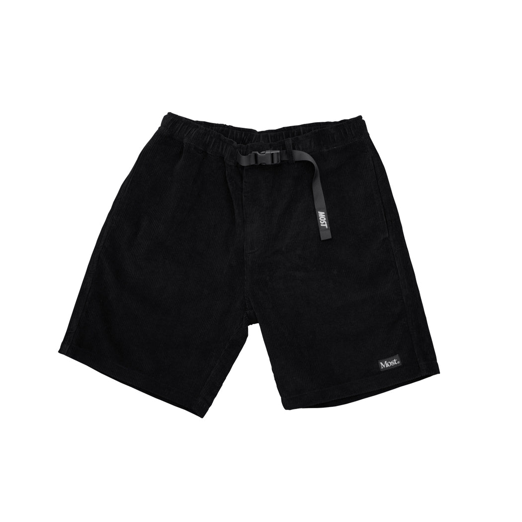 Corduroy Walk Short - Black