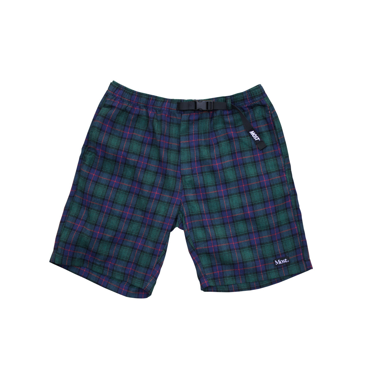 Tartan Walk Short - Green/Navy/Red