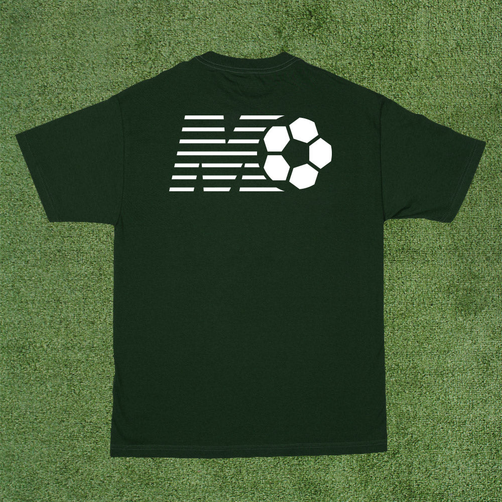World Game Tee - Forest Green