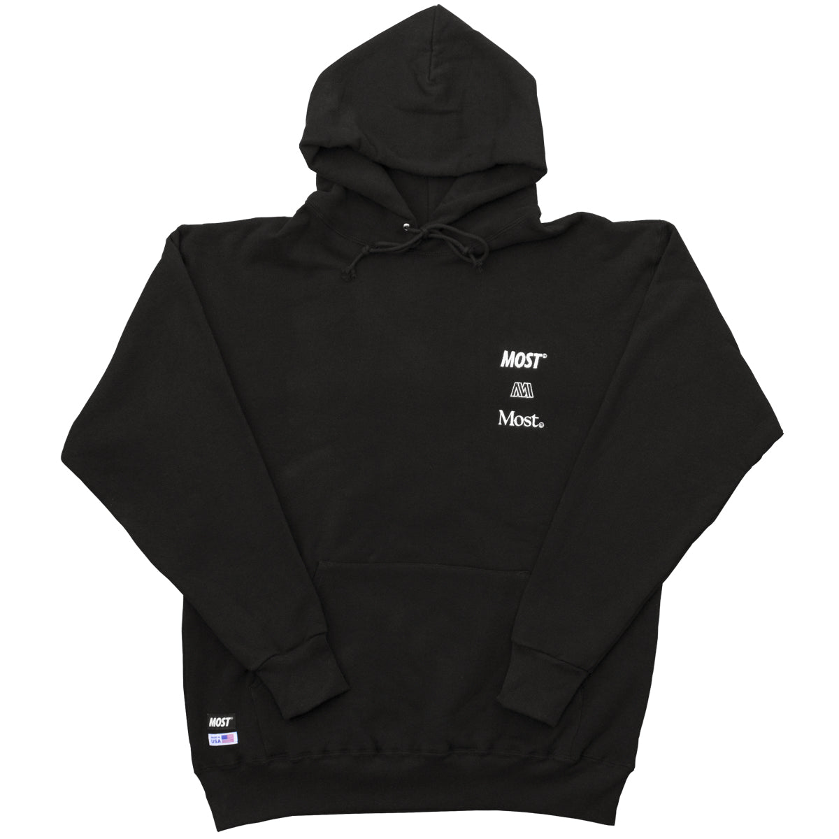 Made in USA Hoodie - Black
