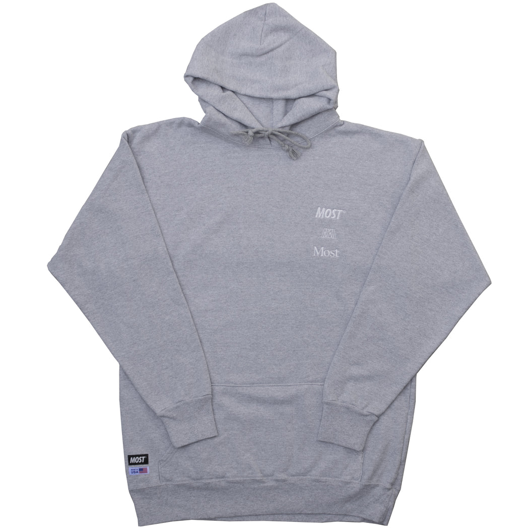Made in USA Hoodie - Heather Grey