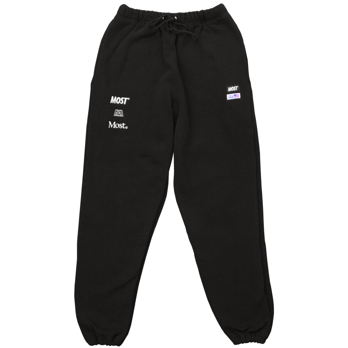Made in USA Sweatpant - Black