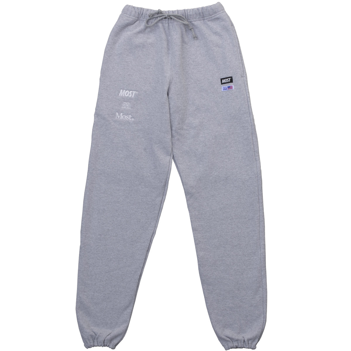 Made in USA Sweatpant - Heather Grey