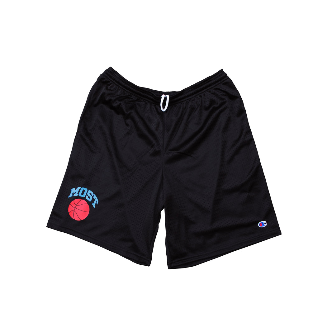 Basketball Mesh Shorts - Black