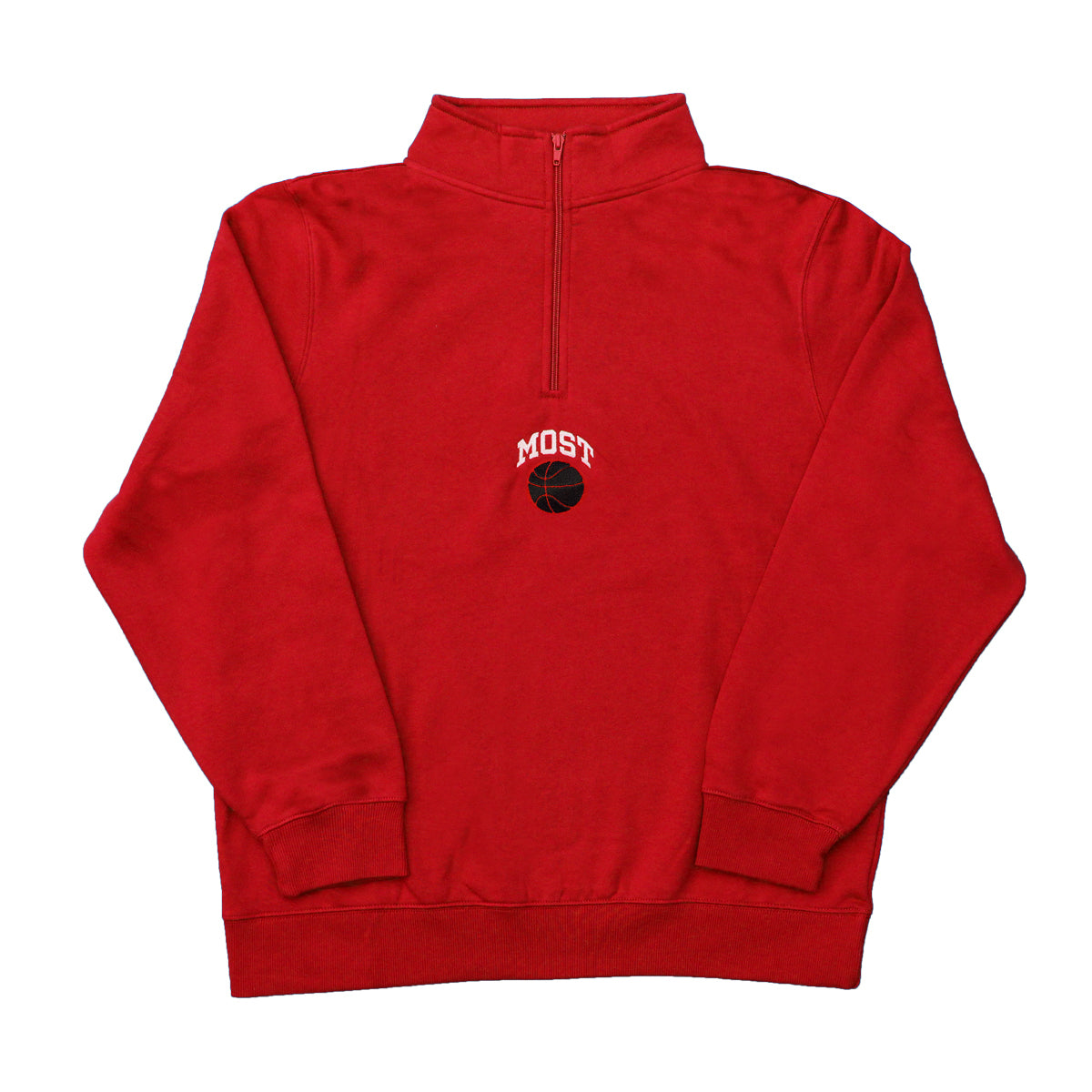 Basketball Quarter Zip - Chicago Red