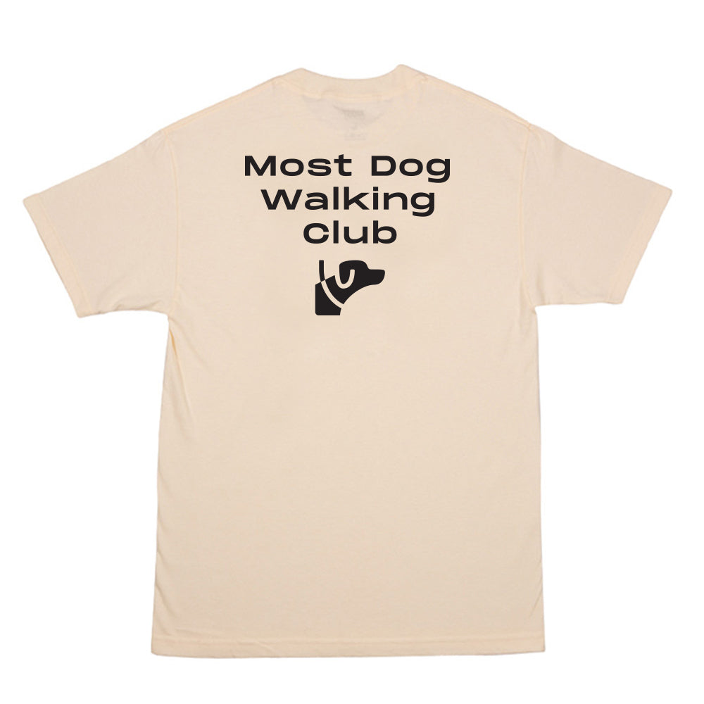 Dog Club Tee - Cream