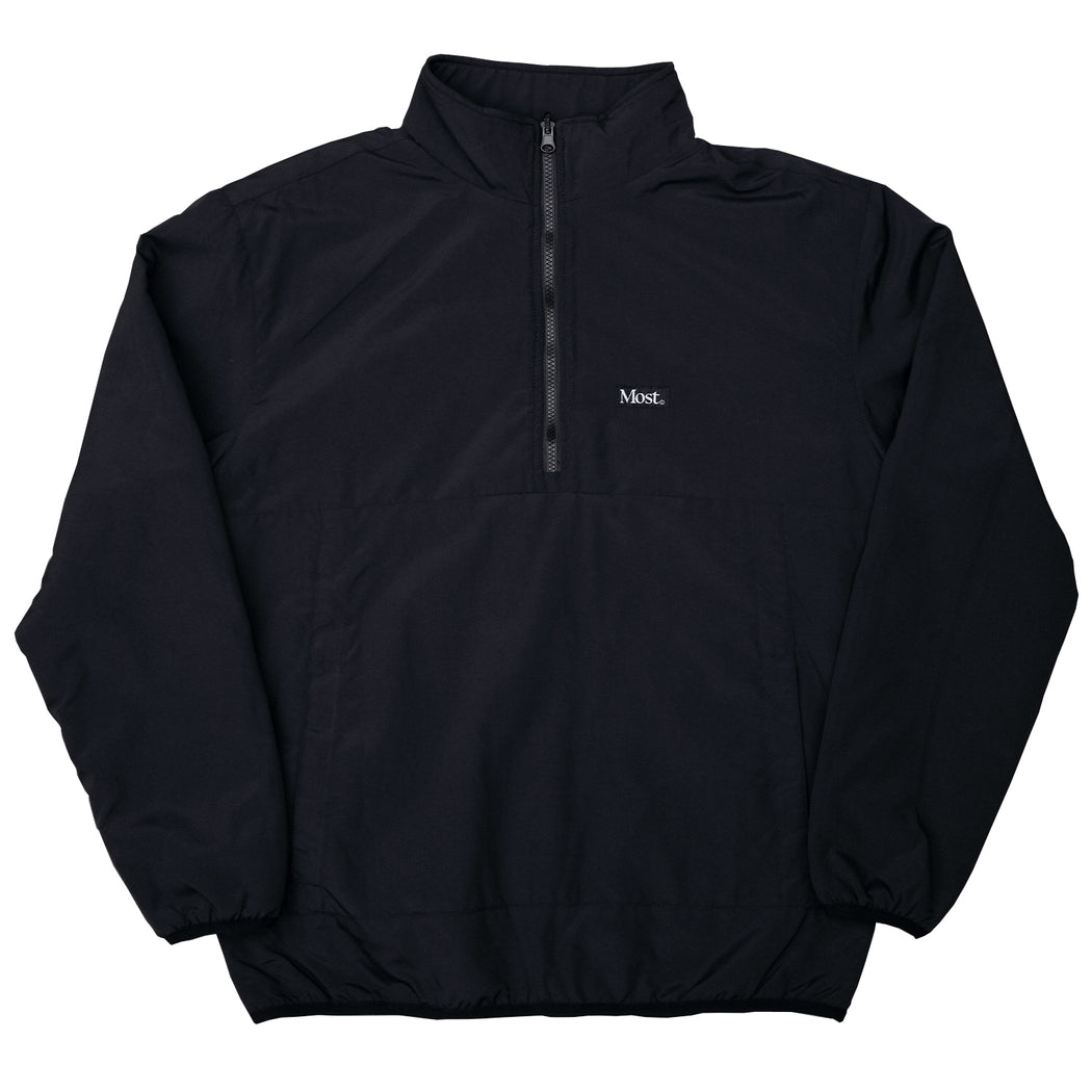 Half Zip Reversible Duo Jacket - Black/Black