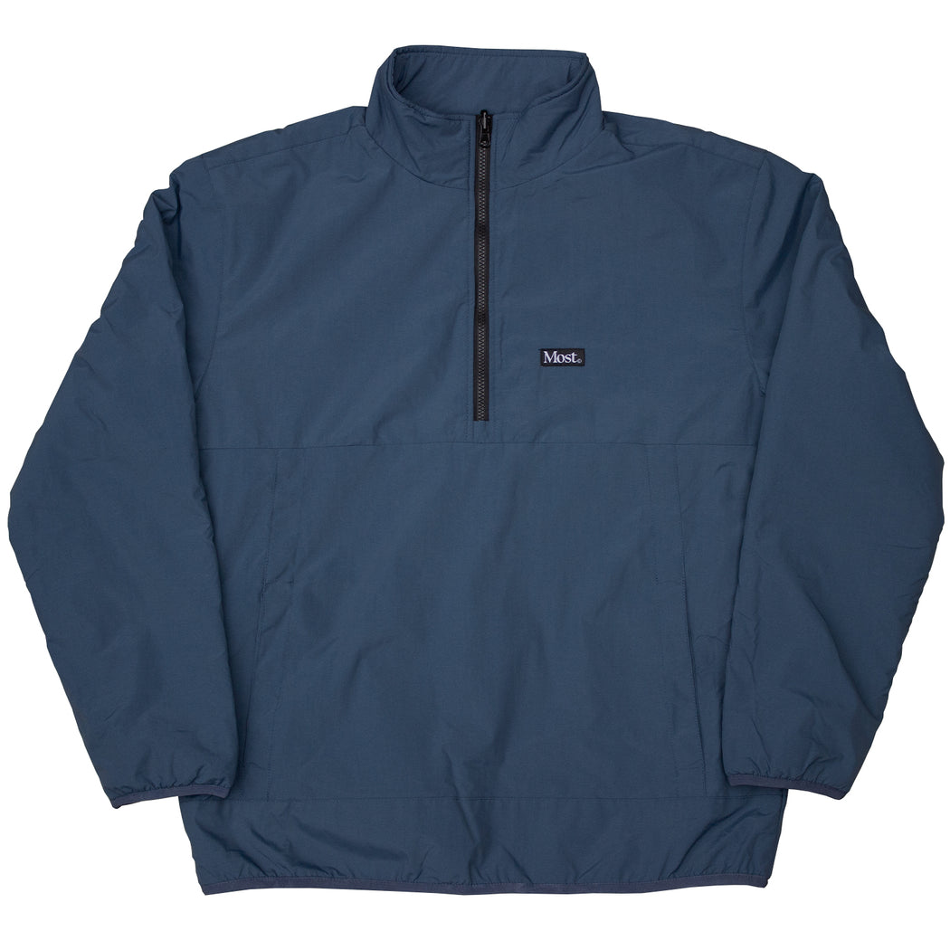 Half Zip Reversible Duo Jacket - Dark Grey/Slate