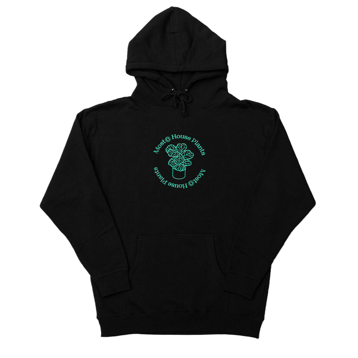 House Plants Heavyweight Hoodie - Black