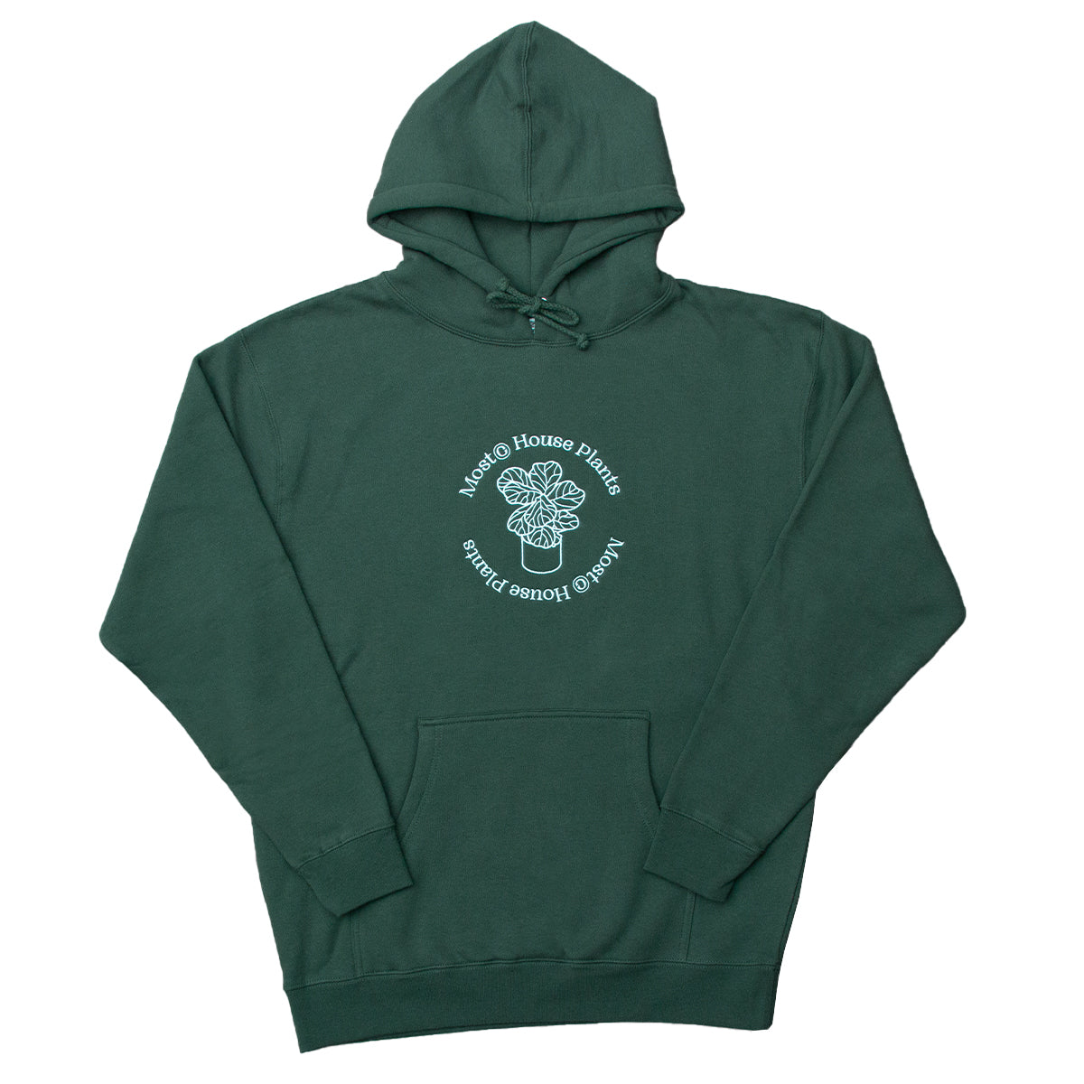 House Plants Heavyweight Hoodie - Forest