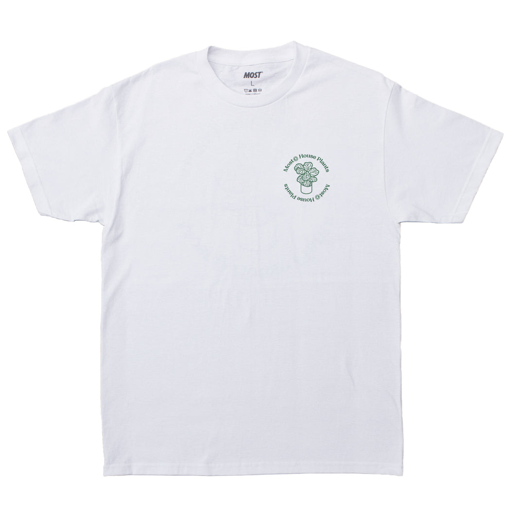 House Plants Tee - White