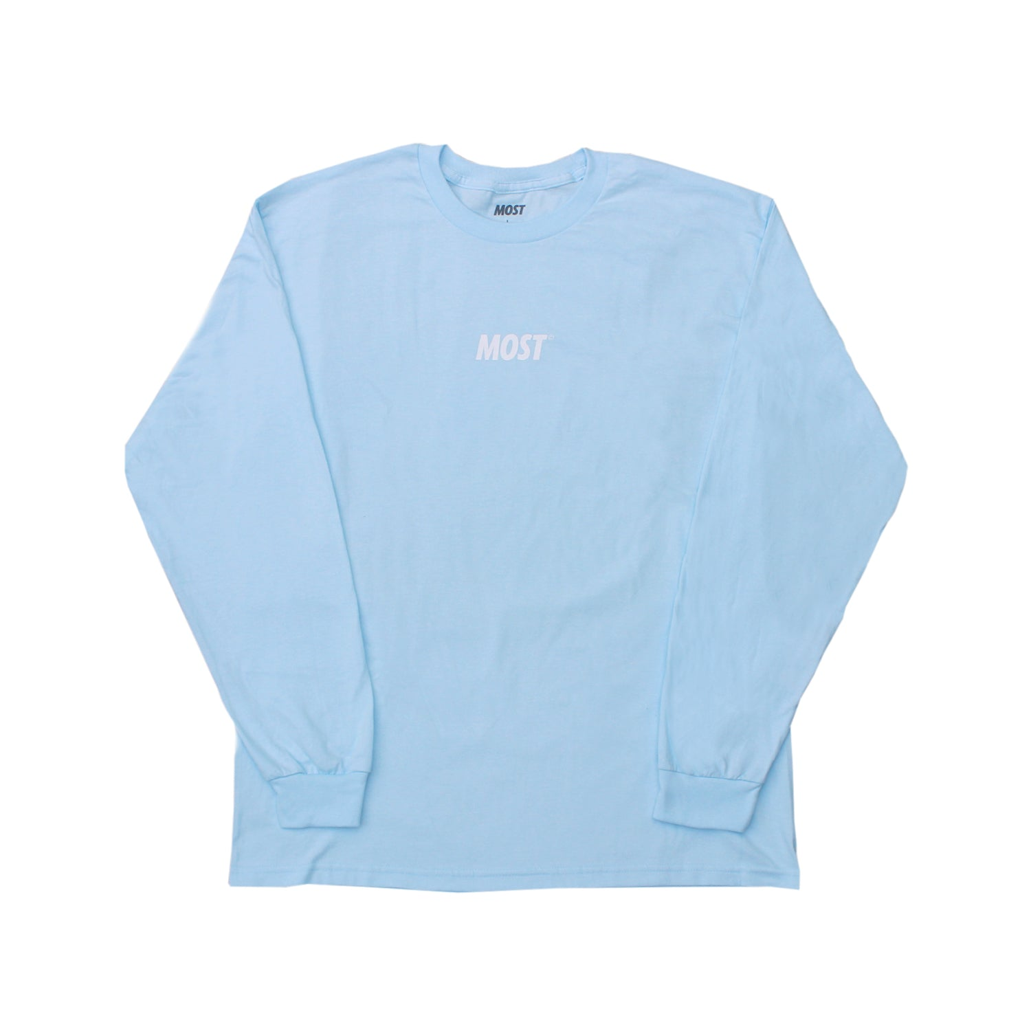 Logo© Long Sleeve Soft Tee - Chambray
