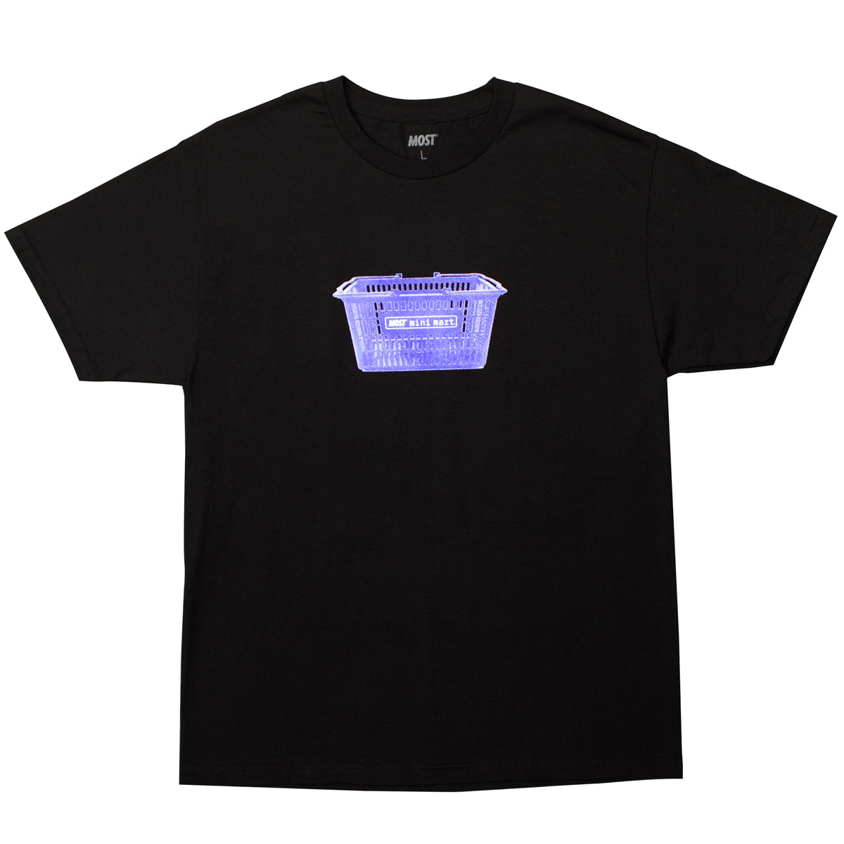 Mini Mart© Basket Tee - Black