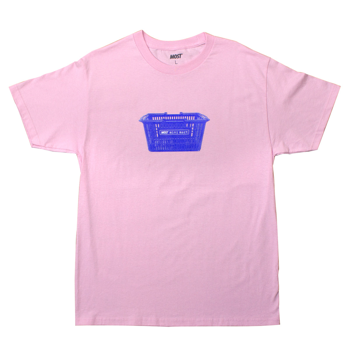Mini Mart© Basket Tee - Pink