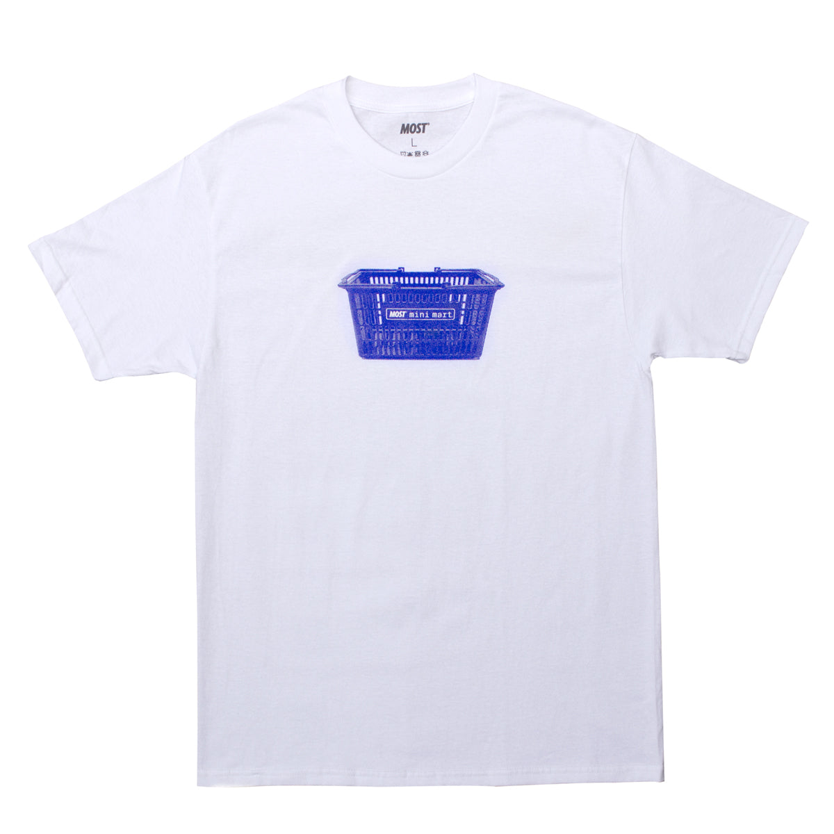 Mini Mart© Basket Tee - White
