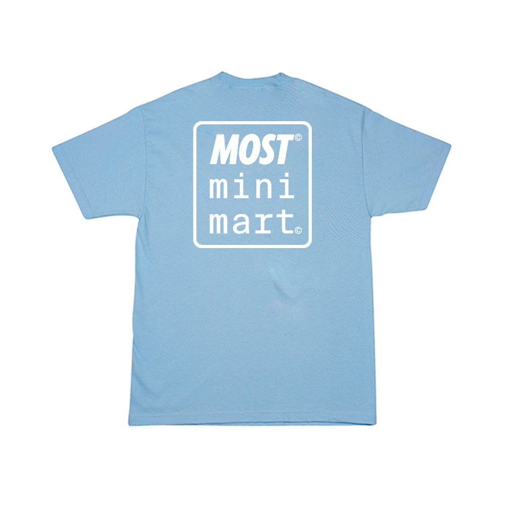 Mini Mart© Logo Tee - Powder