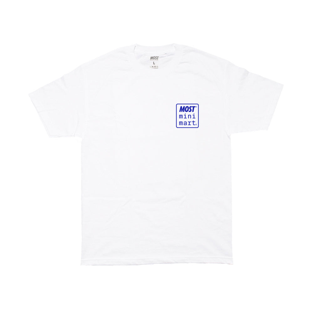 Mini Mart© Logo Tee - White