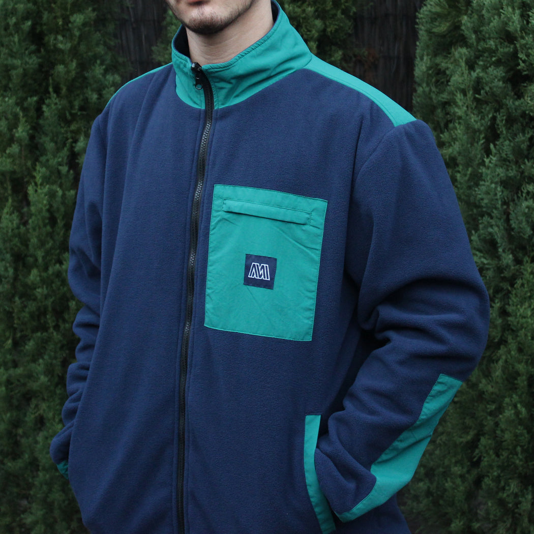 Reversible Duo Jacket - Navy/Teal