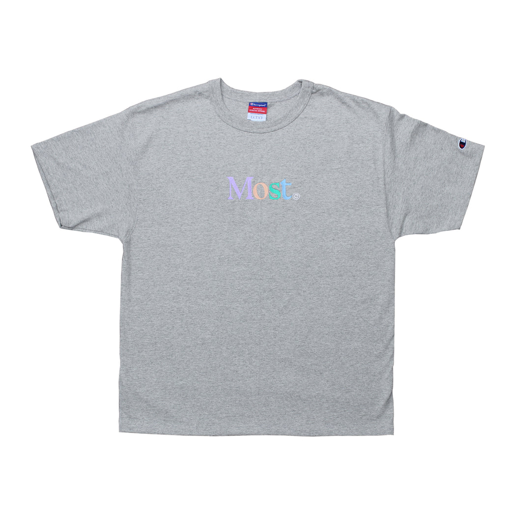 Multi Serif Champion® Tee - Grey