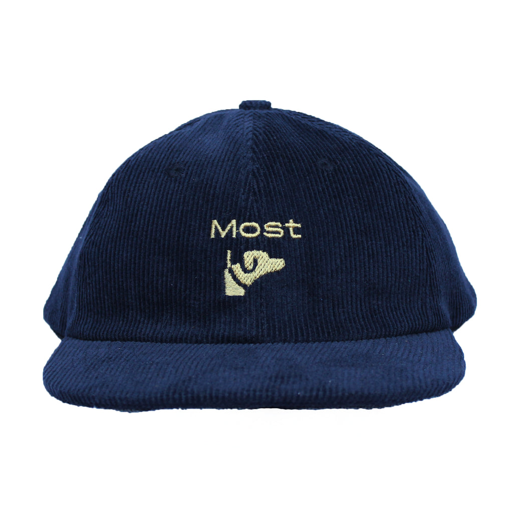 Dog Club Cap - Navy